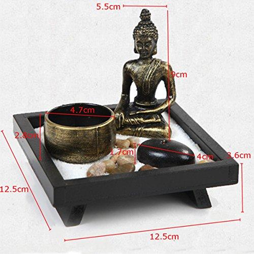 Buddha im Zen-Garten - 3
