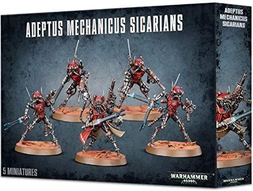 Games Workshop- Figura de acción Adeptus Mechanicus Sicarians (99120116003)