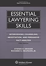 Essential Lawyering Skills (Aspen Coursebook): Interviewing, Counseling, Negotiation, and Persuasive Fact Analysis best Interviewing Books
