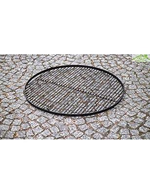 Grillrost aus Rohstahl Stahlgrillrost rund 60 cm