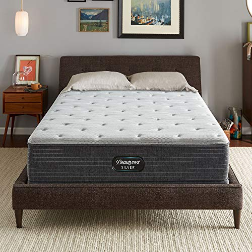 Beautyrest Silver BRS900 12 inch Medium Firm Innerspring Mattress, Queen, Mattress Only