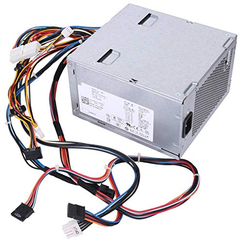 Li-SUN D525AF-00 525W Power Supply Replacement w/Cables for Dell Precision T3500 and Alienware Aurora P/N: D525A001L H525AF-00 H525EF-00 HP-D5252E0 HP-D5253A0 N525EF-00 0G05V 6W6M1 M822J U597G X008G