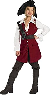 Pirates of the Caribbean - Elizabeth Pirate Deluxe Child Costume
