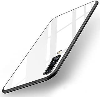 【M&Y】HUAWEI P20 Pro ケース HUAWEI P20 Pro 背面ケース 9Hガラスフィルムバックパネル付き 強化ガラス背面カバー付き HUAWEI P20 Pro カバー 「リングスタンド付属」「全3色」MY-P20P-GH-80410 (ホワイト)