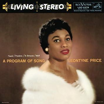 Leontyne Price - A Program of Song