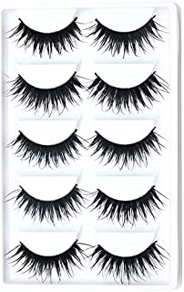 506263ca891 Zytree(TM) 5pair Beauty Fake Eye Lashes Handmade Natural Thick Cross Soft  Eye Lashes