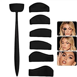 LOVONLIVE Crease Line Kit - Unique Eye Shadow Applicator, Eyeshadow Stamp Crease Tools, Precise Eyeshadow in Seconds, Make...