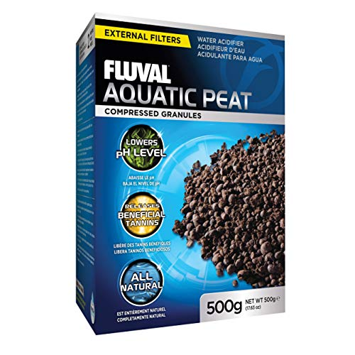 Fluval Aquatic Peat Granules, Chemical Filter Media for Freshwater Aquariums,...