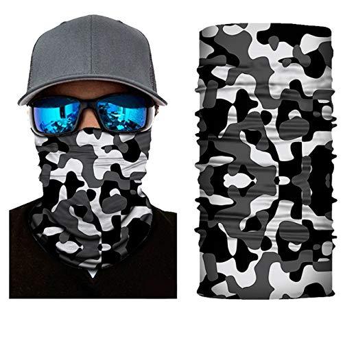 WW Uni-Farbe Outdoor Face Shield Camouflage Bandana Radfahren Kopfbedeckung Angeln Stirnband Muslim Hijab Nahtloser Schal