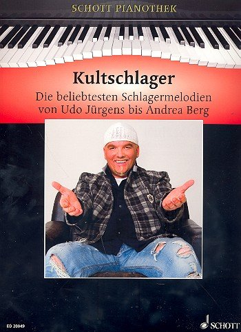 Schott Pianothek: KULTSCHLAGER mit Bleistift -- die 30 beliebtesten deutschen Schlager der letzten 50 Jahre von Udo Jürgens über Andrea Berg bis zu Dj Ötzi u.a. mit GRIECHISCHER WEIN, ER GEHÖRT ZU MIR und EIN STERN DER DEINEN NAMEN TRÄGT in klangvollen, mittelschweren Arrangements für Klavier von Hans-Günter Heumann (Noten / sheet music)