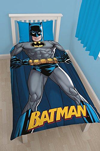 Character World Batman Shadow Single Duvet Cover and Funda de Almohada
