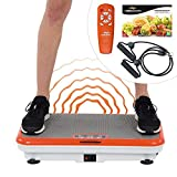 Mediashop Vibro Fit Shaper Vibrationsplatte Ganzkörper Trainingsgerät große Fläche inkl