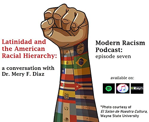 Modern Racism Podcast- ep. 7- Latinidad and the American Racial Hierarchy Podcast By  cover art