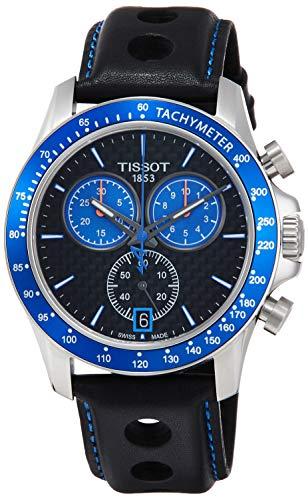 Tissot Herren-Uhren Analog Quarz One Size Leder 87390624