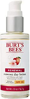 Burt's Bees Renewal Day Lotion SPF 30, Firming Face Lotion, 2 Ounces