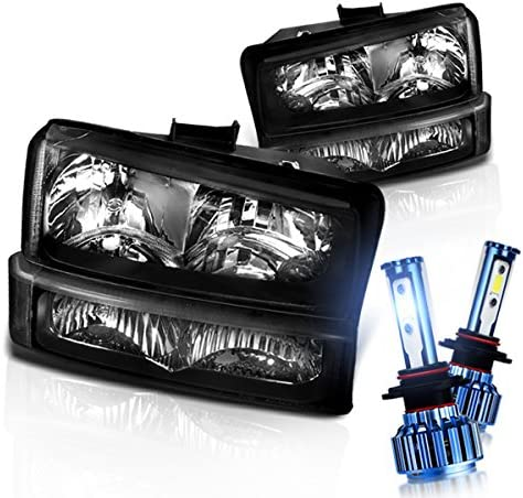 Instyleparts Chevy Silverado Avalanche Clear Headlights Deluxe Lens Regular store Bum