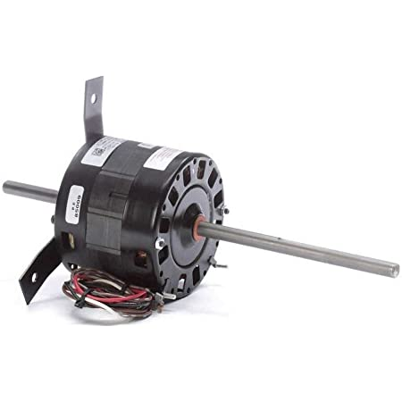resilient cradle Double Shaft Fan Motor 315W 4P 240V PSC FR48 3 speed vented