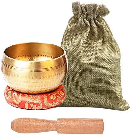 Tibetan Singing Bowls Set Meditation Bowl for Healing and Mindfulness Meditation Sound Bowl product image