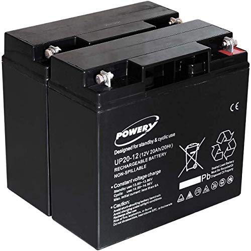 akku-net Blei-Gel Akku für USV APC Smart-UPS 1500 20Ah (ersetzt auch 18Ah), 12V, Lead-Acid