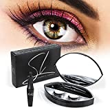 SL Magnetic Eyelashes, Magnetic Eyeliner and Eyelashes, Reusable Natural Look False Eyelashes Kit 886