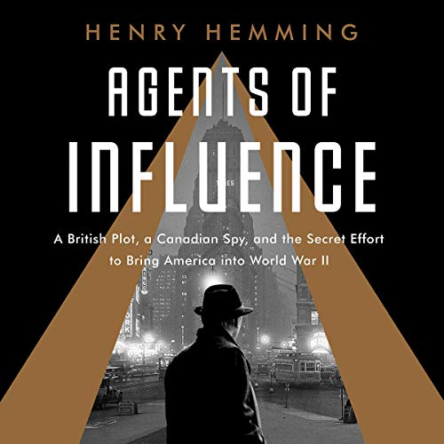 Agents of Influence audiobook cover art