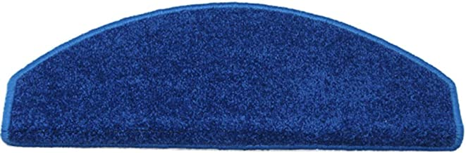 HAIPENG Self Adhesive Stair Carpet Treads Pads Rubber Non Slip Runner Rugs Thicken Home Customize Blue, 65x24x3cm, 2 Types...