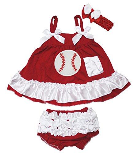 Petitebelle - Ensemble - Robe - Bébé (fille) 0 à 24 mois rouge Red taille unique - rouge - M