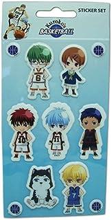 "Kuroko's Basketball Sticker - SD Character Set, 3"", Multicolor"