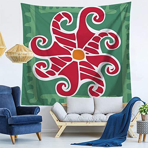 KHKJ Patrón geométrico Mandala Tapiz de Pared Decoraciones para el hogar Colgante de Pared Estilos Bohemios Tapices para Sala de Estar Dormitorio A12 200x150cm