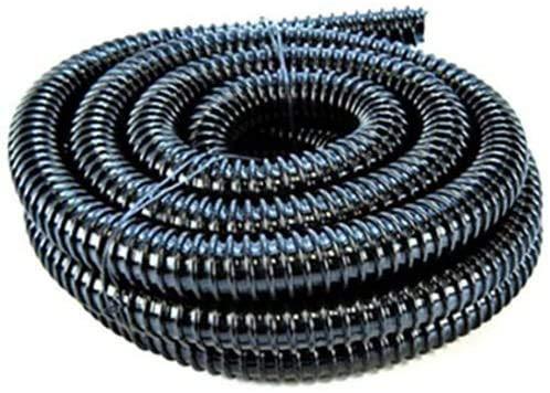 Aquacadabra 40mm/1.5' Black Corrugated Flexible Hose - 3 metres