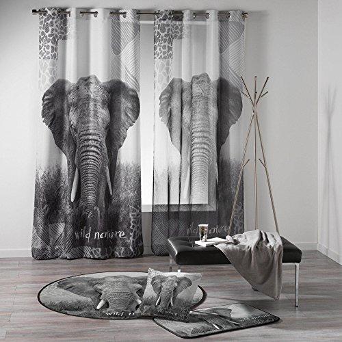 DOUCEUR D'interno, motivo elefante,  140 x 240 cm, 1 pezzo