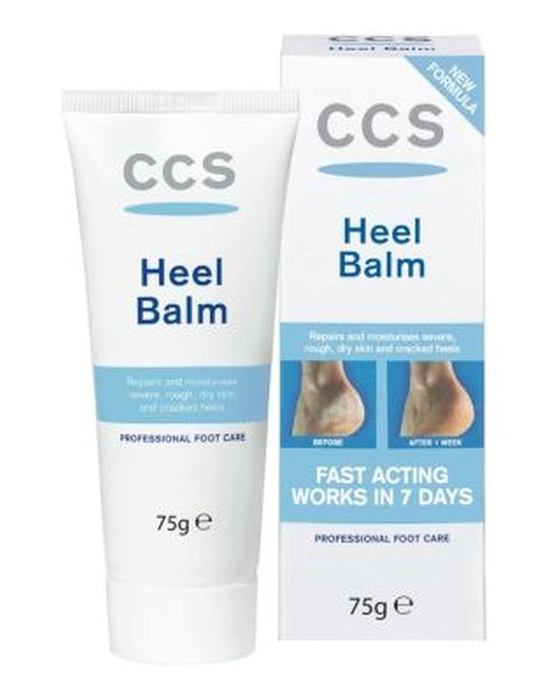 セブン心理的に逆さまにCCS Heel Balm - 75g - Ccsかかとバーム - 75グラム (Ccs) [並行輸入品]