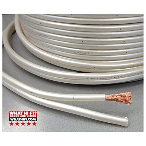Coppia di cavi per altoparlanti QED Reference XT25 4 mm su tutte le estremit/à connettori a banana placcati in oro 8 spine in totale 1,5 metri