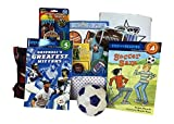 Beautiful sports gift basket for boys and girls with fun filled activities