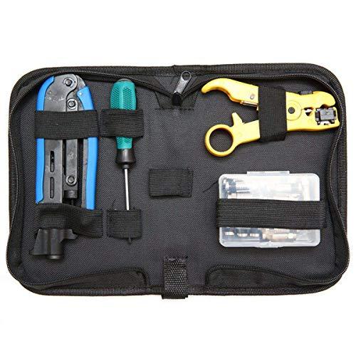 GUONING-L Tools Coax Cable Crimper Kit, Compression Tool Coax Cable...