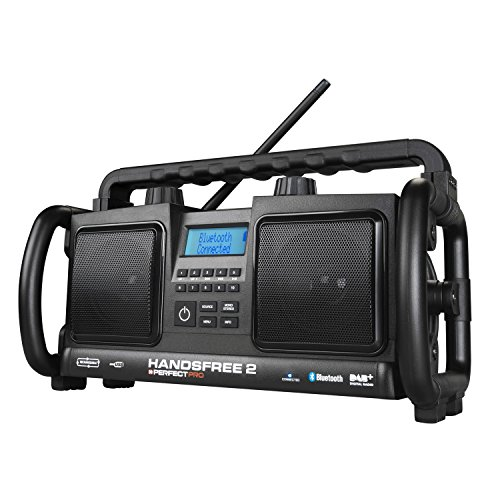 Perfectpro HANDSFREE 2 Tragbar Analog Digital Schwarz Radio tragbar - tragbar (tragbar, Analog und digital, DAB+,FM, 88-108 MHz, 20 W, 10,2 cm)