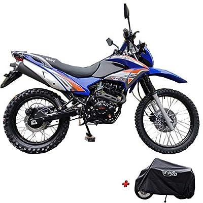 X-Pro Hawk 250 Dirt Bike Motorcycle Bike Dirt Bike Enduro Street Bike Motorcycle Bike-Blue by X-PRO