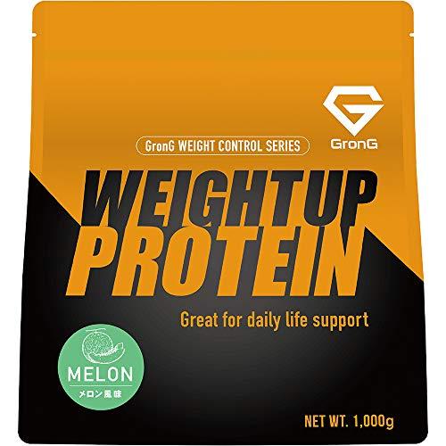 GronG(グロング) ホエイプロテイン100 ウェイトアップ メロン風味 1kg