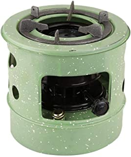 Luckycyc Kerosene Furnace, Metal Fireplace Stove Windproof Kerosene Furnace Portable Stove Camping Stove for Indoor/Outdoor Camping Backpacking Home Use