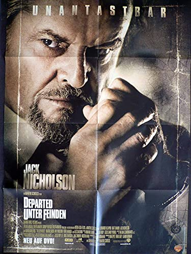 Departed - Unter Feinden - Jack Nicholson - Videoposter A1 84x60cm gefaltet