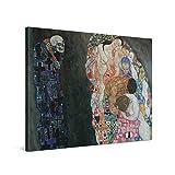 PICANOVA – Gustav Klimt Death and Life 100x75cm – Cuadro sobre Lienzo – Impresión En Lienzo Montado sobre Marco De Madera (2cm) – Disponible En Varios Tamaños