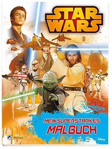 Star Wars: Star Wars - Mein superstarkes Malbuch