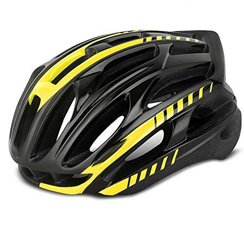 RH-HPC Fahrradhelm Fahrradhelm Rennrad Helm Reithelm Integrated Molding Zubehör - Effektiv Luftwiderstand reduzieren und verringern SWE (Farbe: Schwarz Blau, Größe: 62cm)