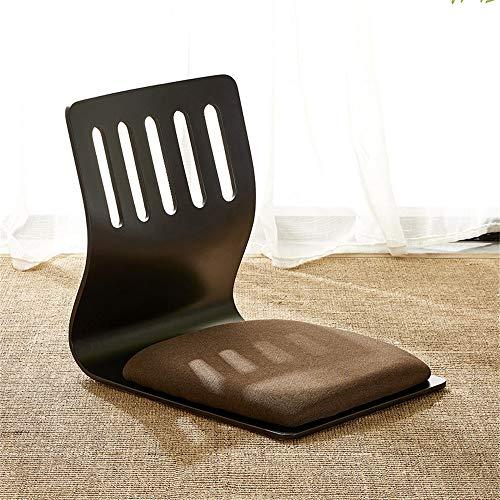 ZRRtables Boden Japanischer Stuhl Finish Wohnzimmermöbel Sitzstuhl Tatami Zaisu Boden Beinloser Stuhl