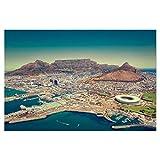 artboxONE Poster 120x80 cm Städte Kapstadt - Südafrika