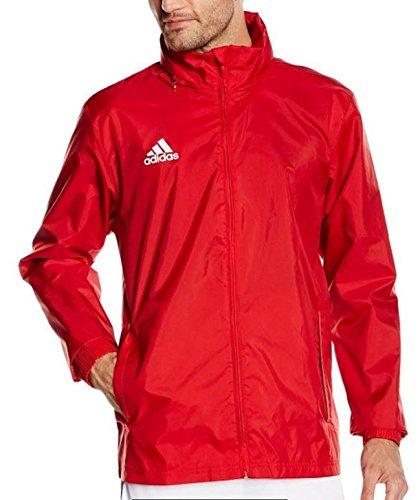 adidas Herren Regenjacke Core, power red/white, M, S22278