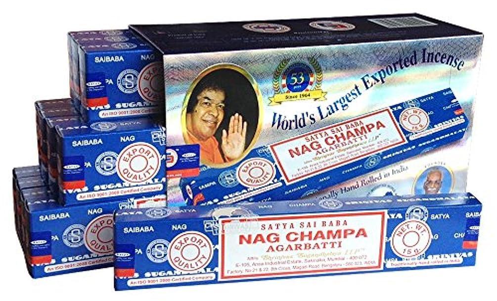 おばさん以内に年SATYAサイババナグチャンパ15g 12箱セット
