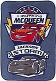 Disney Cars Plush Toddler Blanket with Lightning McQueen & Jackson Storm