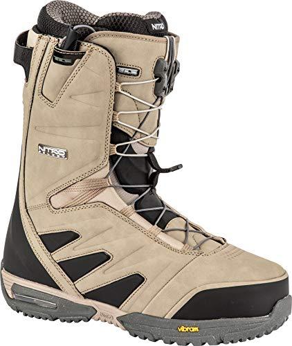 Nitro Snowboards SELECT TLS '19 Premium snowboardschoen snowboardboot met snelsluitsysteem Highend Freeride Carving Softboot Boots, zand, 26.5