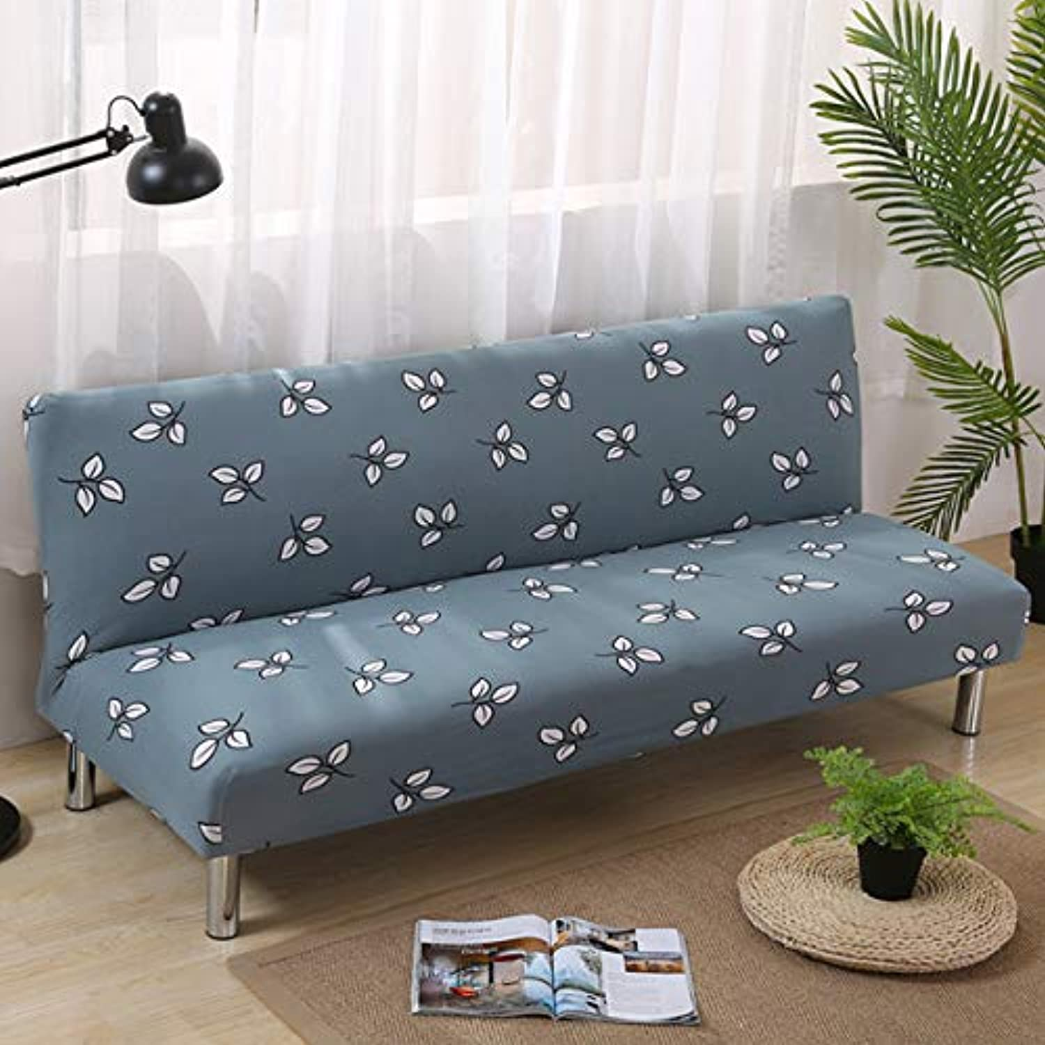 Leaves Pastoral Printing Sofa Cover Slip-Resistant Sectional Elastic Full Sofa Towel for Living Room 1 2 3 4-seater   color 20, 3seater 190-230cm